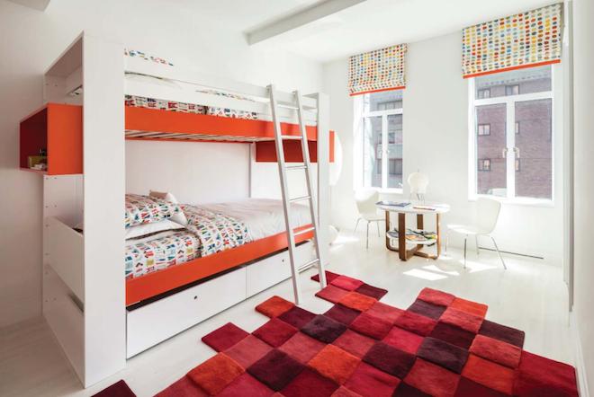 737 Park C secondary bedroom