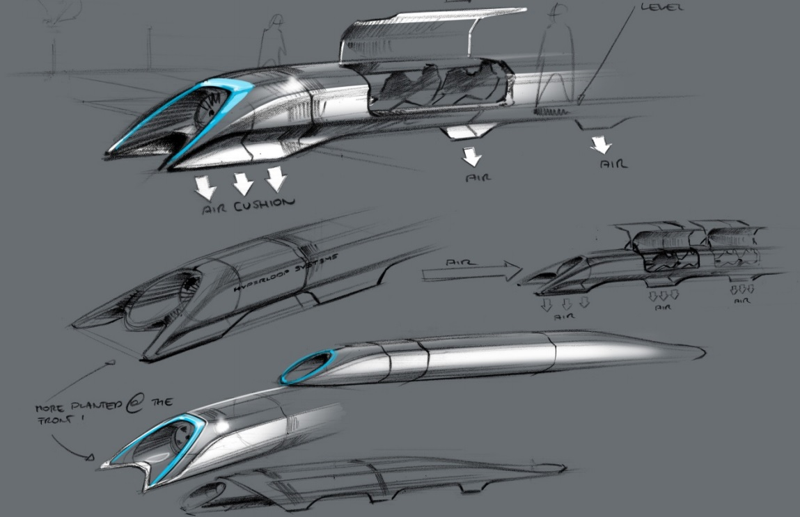 Elon Musk Hyperloop-4