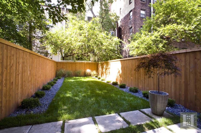 Greyston House backyard