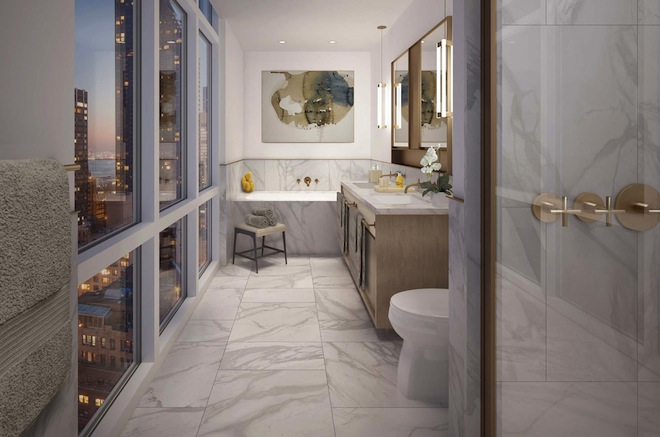 Halcyon bathroom