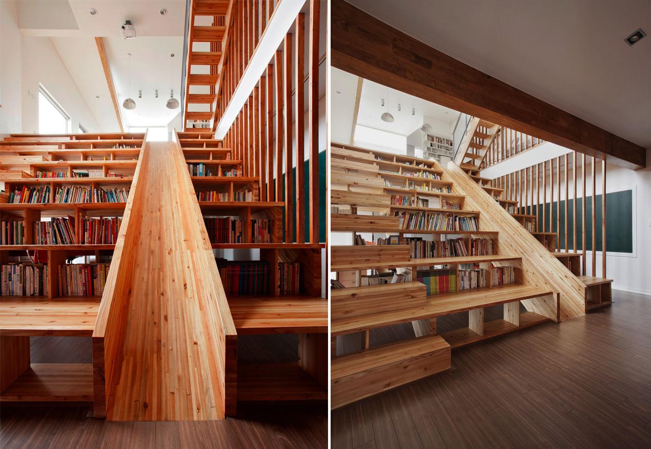 Library slide