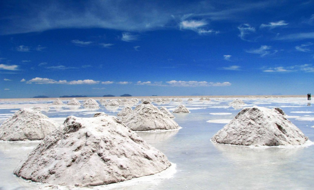bolvia salt plain