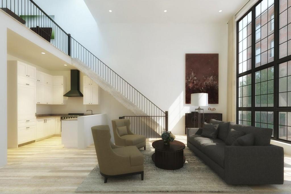 111 Kane living room