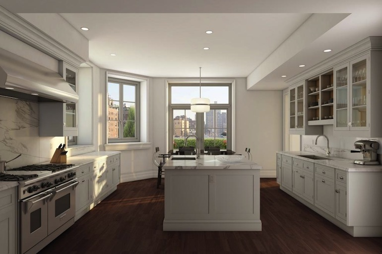 135 East 79th kitchen