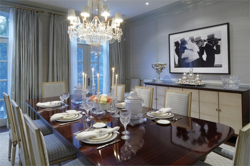 The Churchill Collection dining room