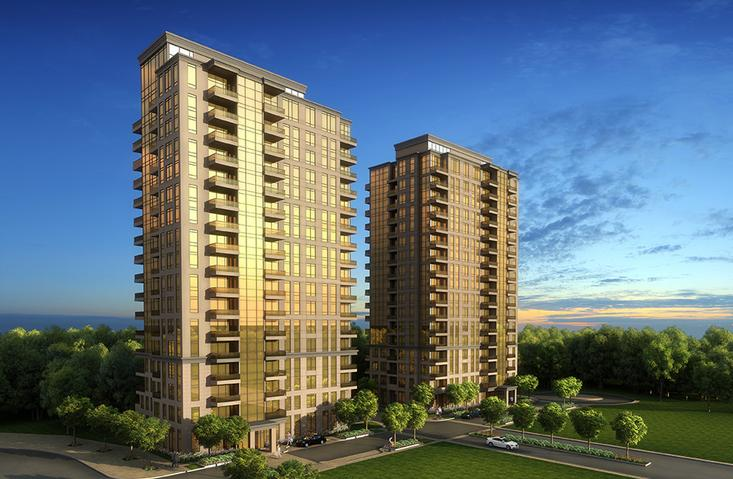 Admiral Towers exterior rendering
