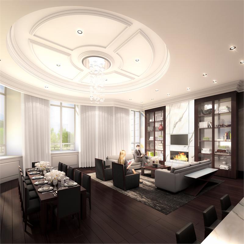 The Chelsea interior