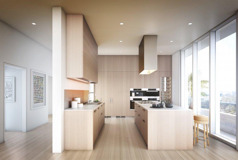 Beach House 8 kitchens