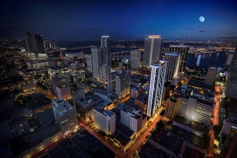 Views for Centro development in downtown Miami.
