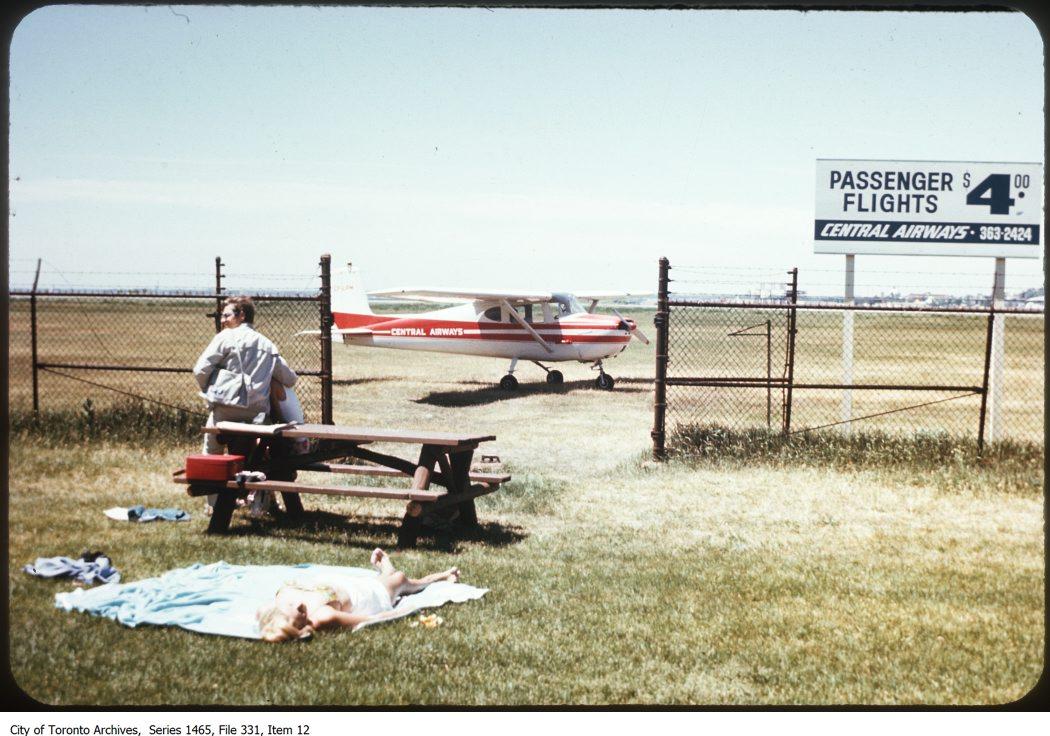 Toronto Island & Island Airport 1970