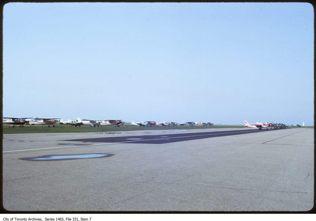Toronto Island & Island Airport. - 1970