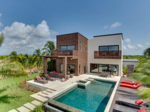 One of Wild Orchid's marina villas.