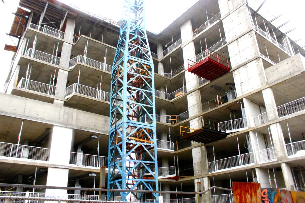 Q Loft construction