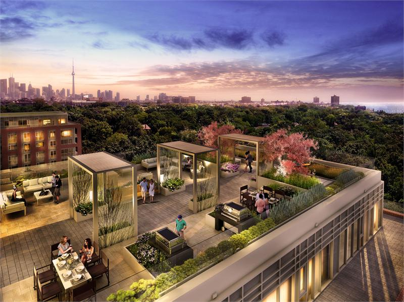 highpark condominiums rooftop