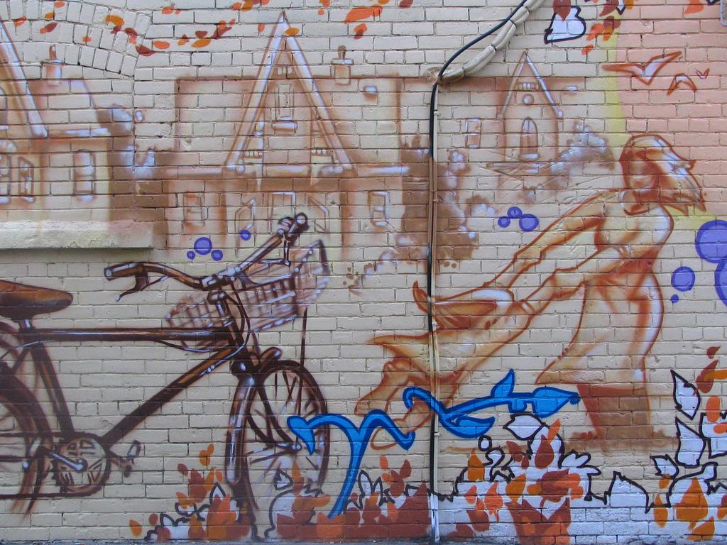 neighbourhood mural