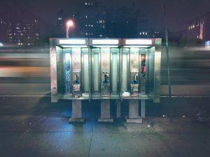 new york phone booths