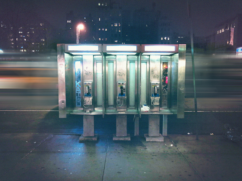 new york phone booths