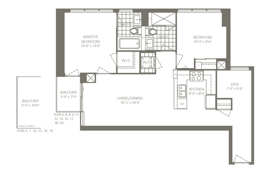 skycity floorplan
