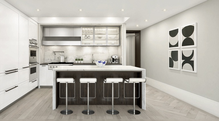182 West 82nd kitchen