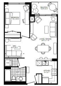 Perspective condos floor plan