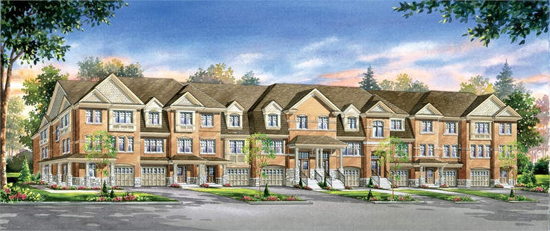 turnberry townhomes rendering