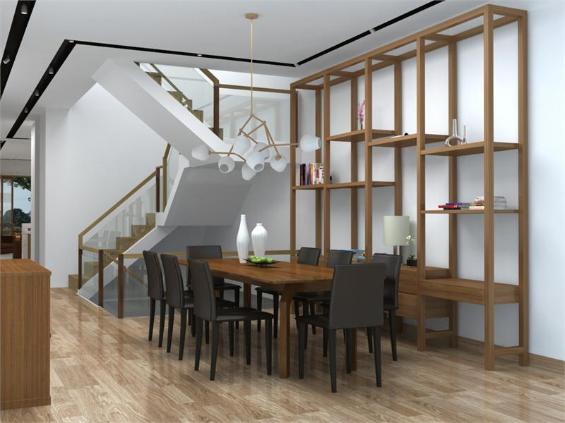 the wave dining room rendering