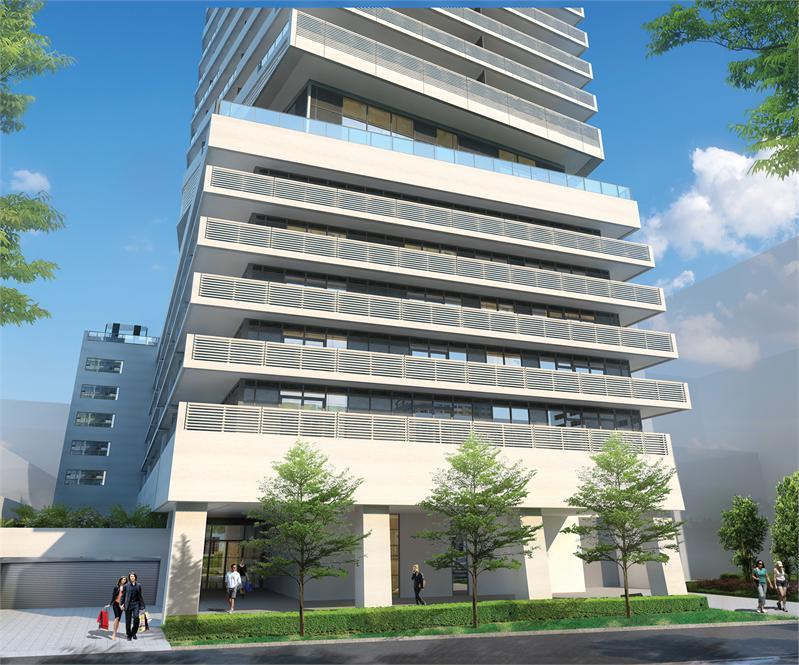 2221 Yonge exterior rendering