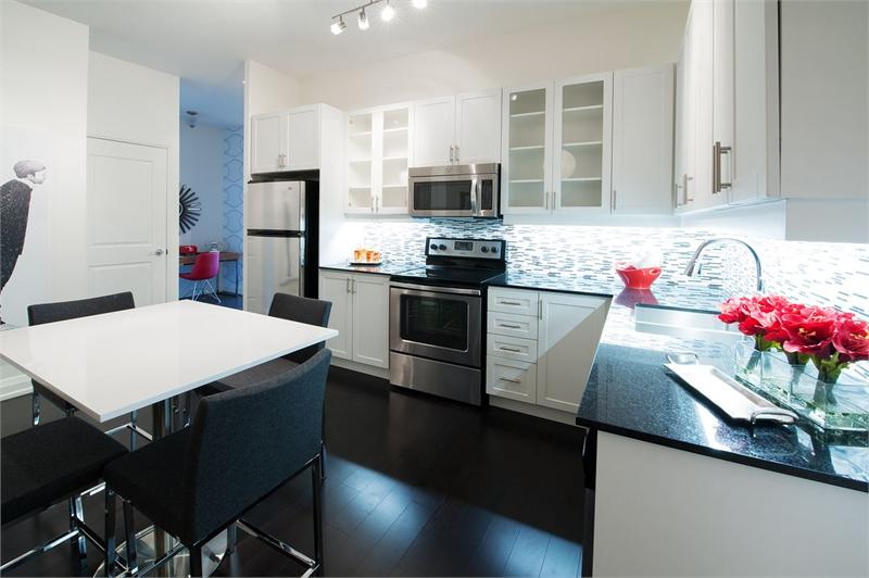 ArtHouse Condos model suite