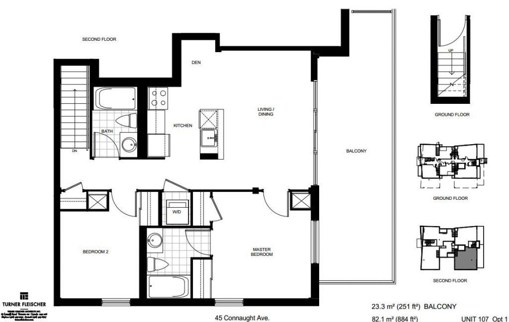 loft forty five unit 107