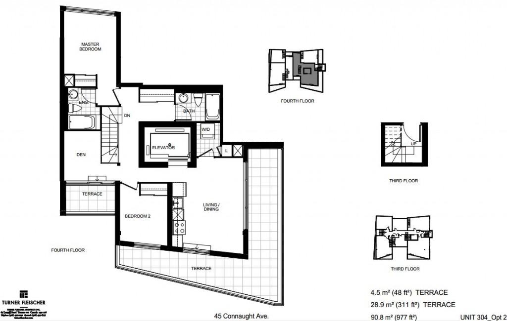 loft forty five unit 304