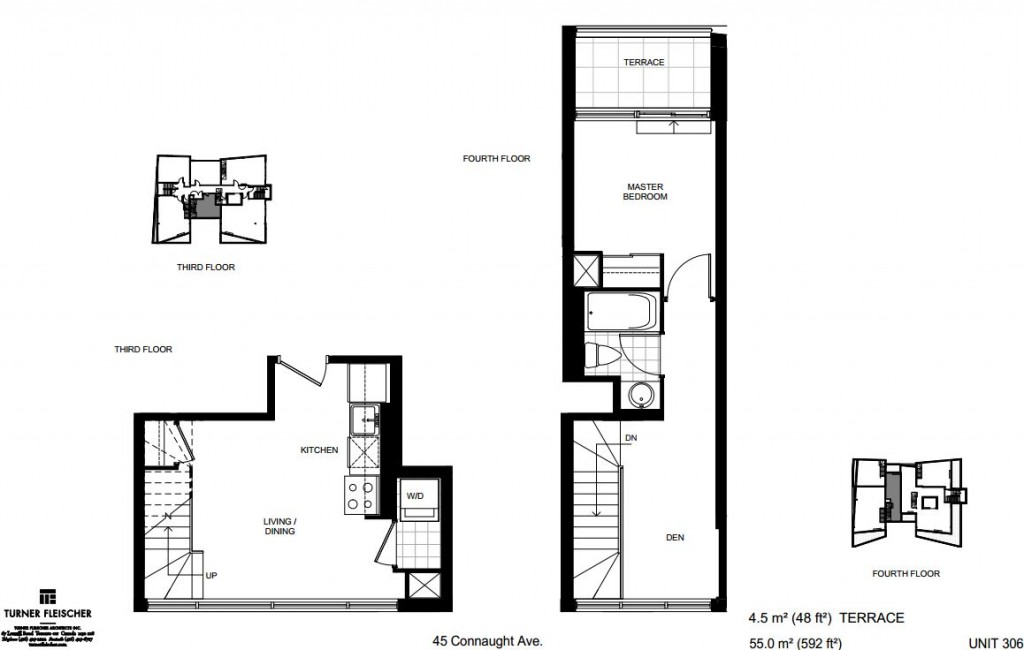 loft forty five unit 306