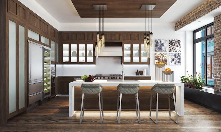 66 East 11th kitchen