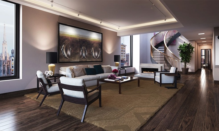 66 East 11th penthouse
