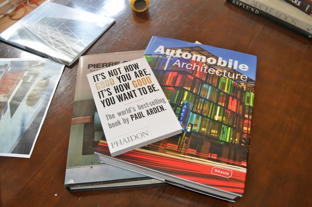 architect bookshelf