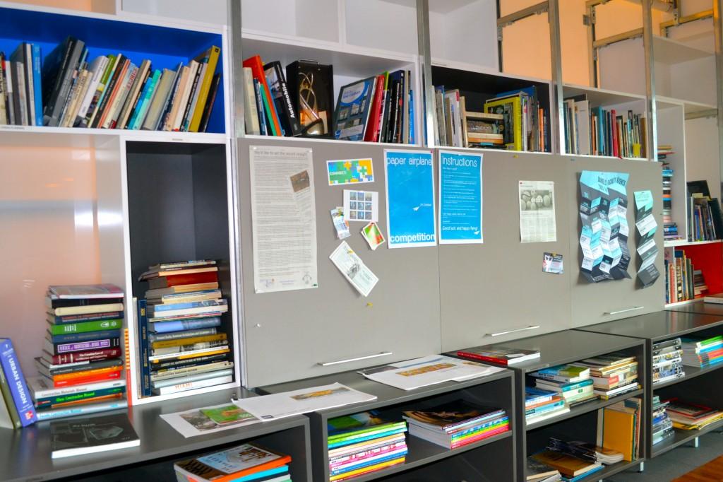 quadrangle bookshelf