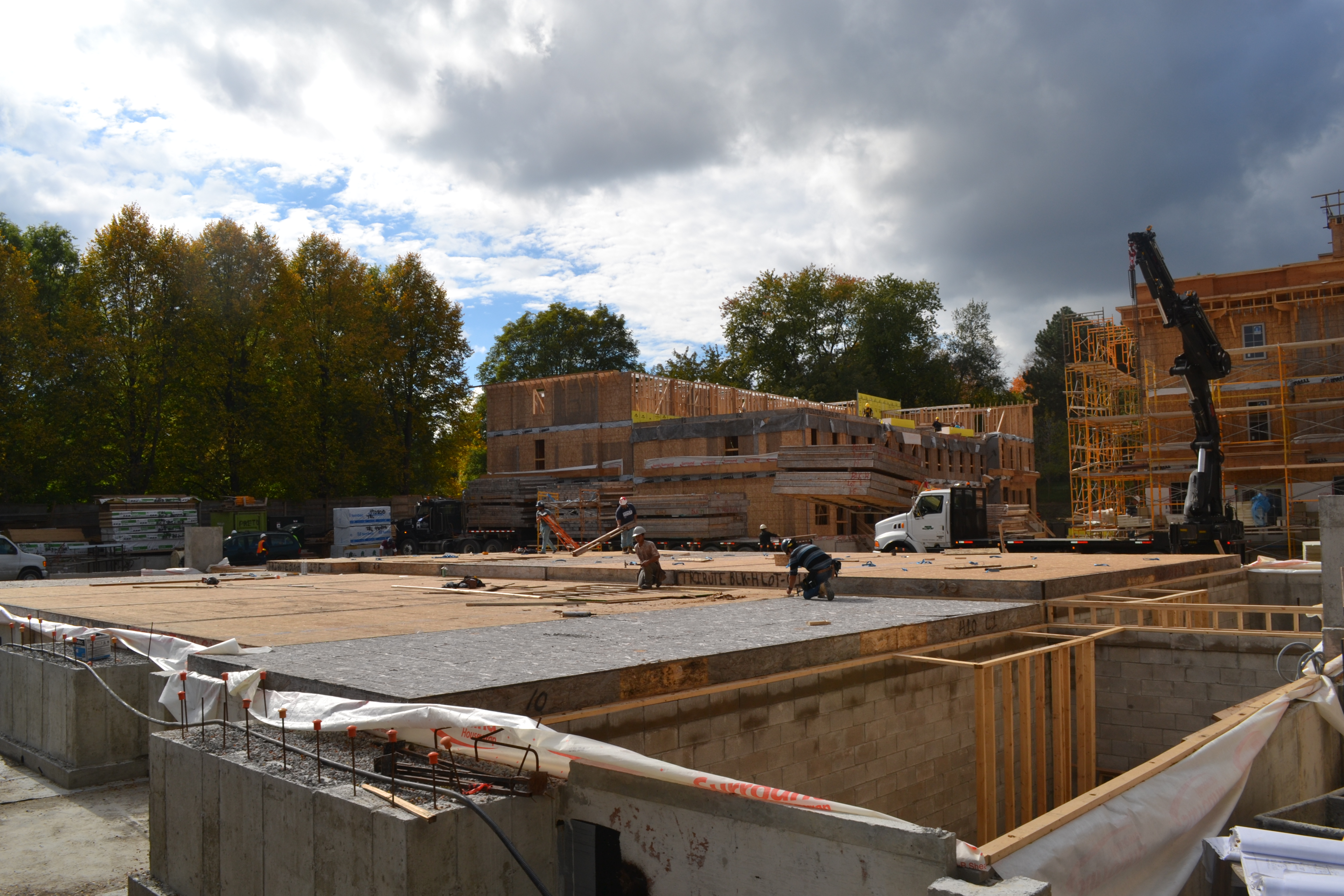 canterbury lawrence park construction site