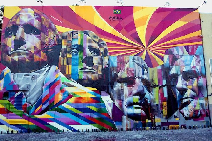 mount rushmore street mural