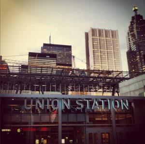 union station construction toronto