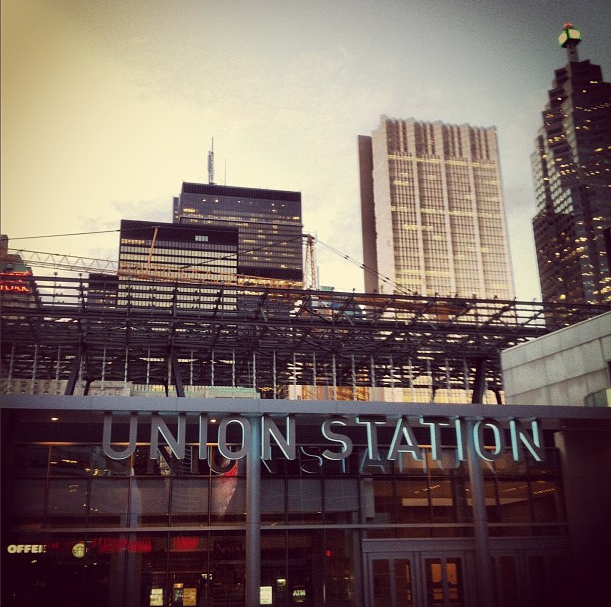 union station construction toronto