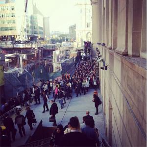 Union Station crowd Toronto
