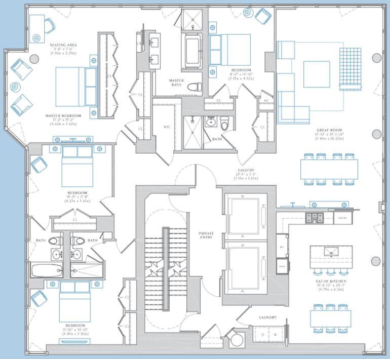 The Charles floors 26-30