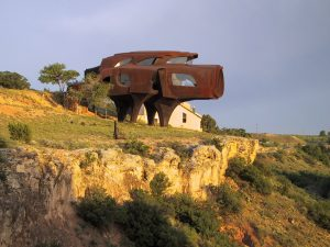 steel house in texas