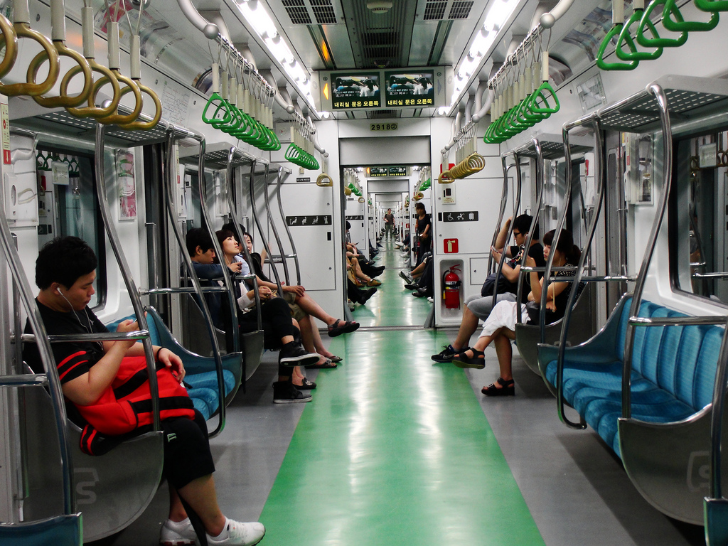 seoul subway car