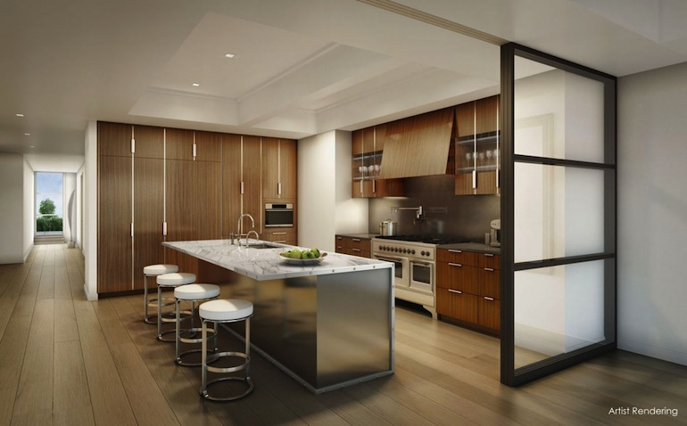 12 East 13th kitchen