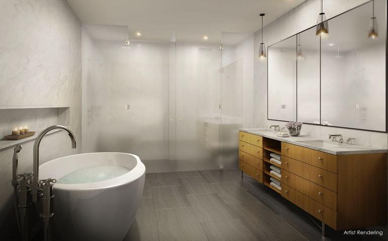 12 East 13th master bath