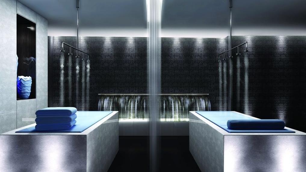 noir condos massage room
