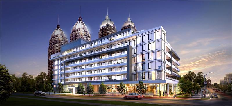 NY2 Condos exterior rendering