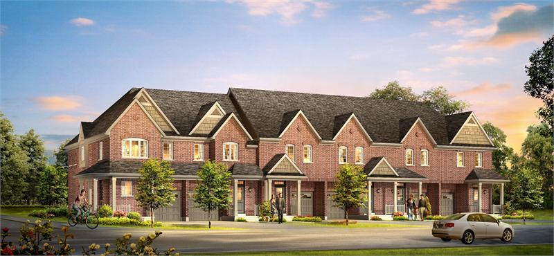 highlands townhomes rendering