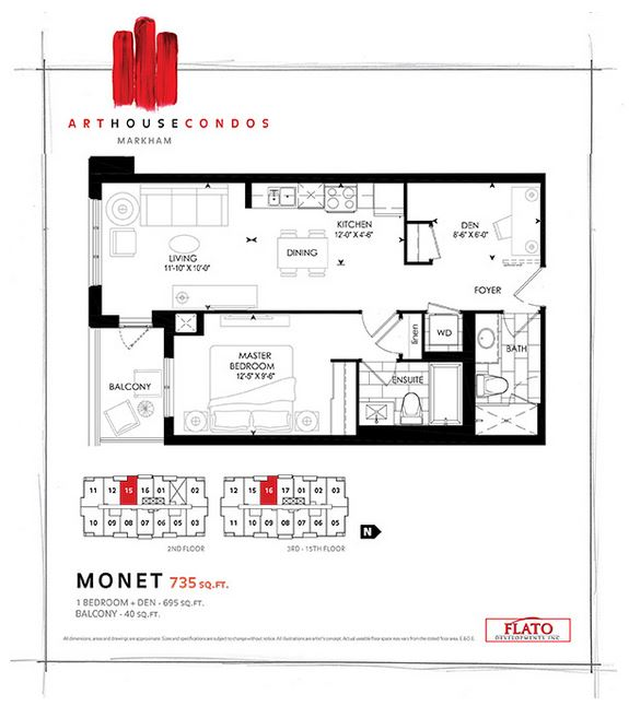 new monet floorplan