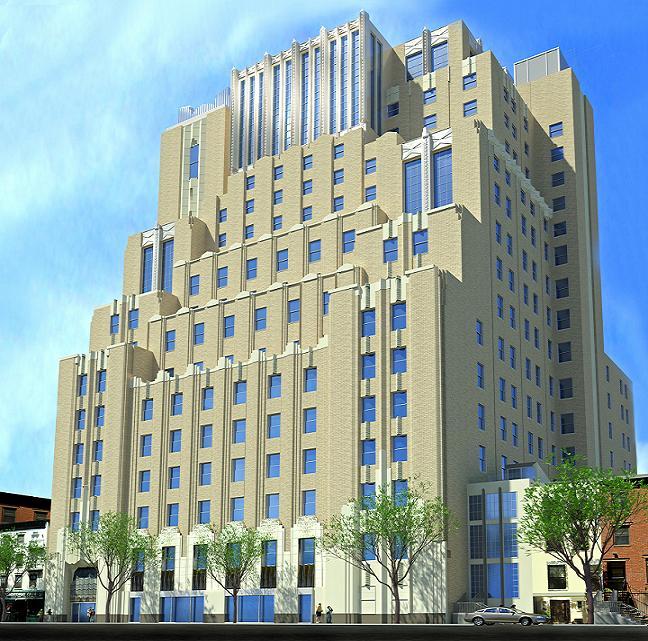 435 West 50th Street facade